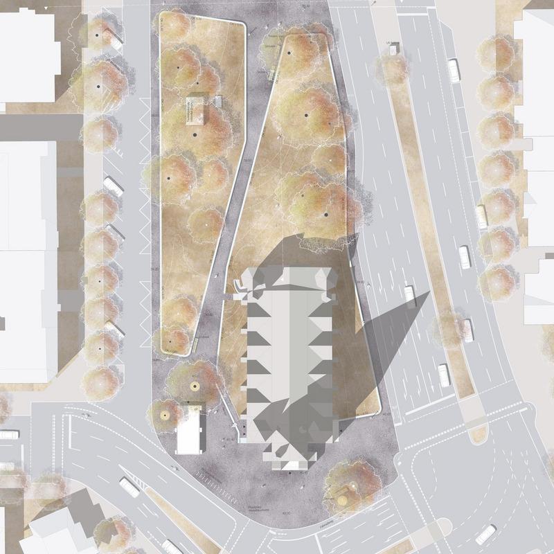 Freiraumplanung Friedrich-Wilhelm-Platz © METTLER Landschaftsarchitektur, CH-Gossau und Berlin