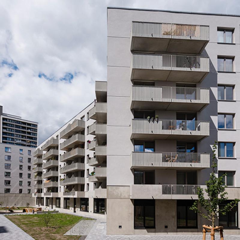 Neubau Franz-Klühs-Straße © Thomas Meyer/Ostkreuz