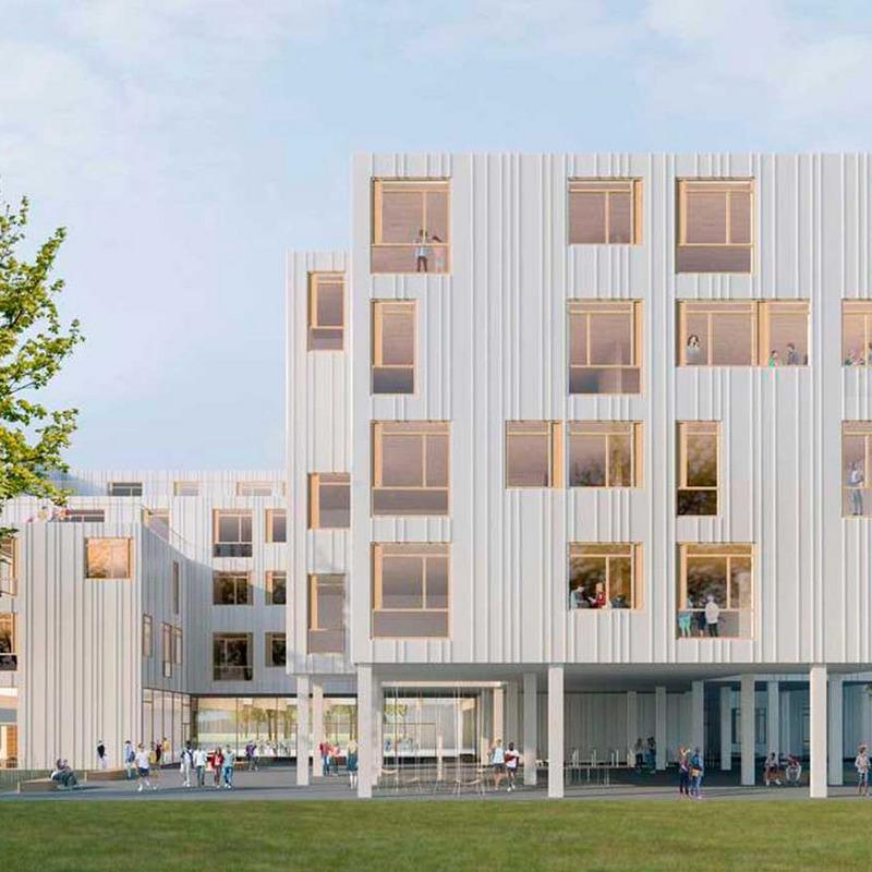 Schulbauvorhaben Allee der Kosmonauten © PPAG architects, A-Wien