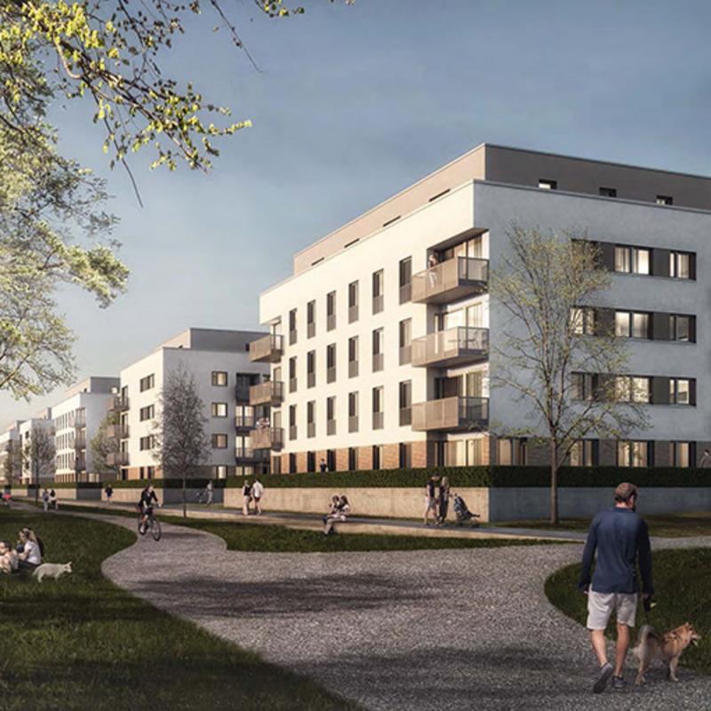 Wohnquartier Daumstraße © wiechers beck