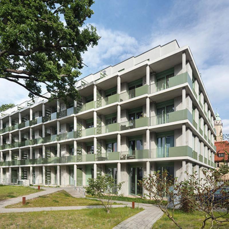 Wohnhaus in Köpenick © Werner Huthmacher