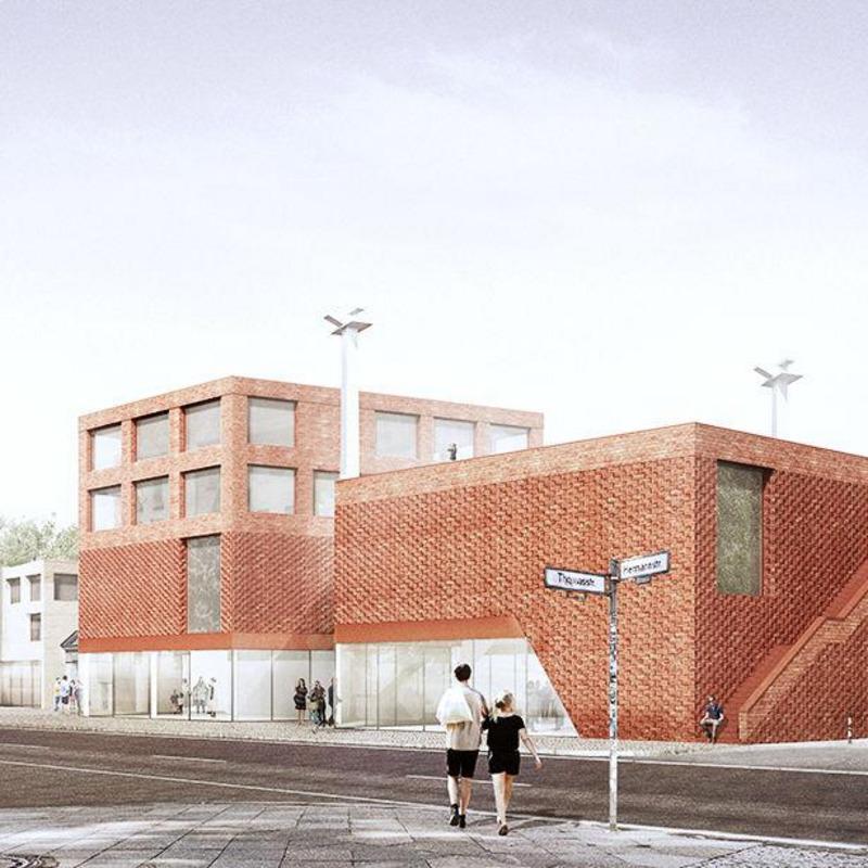 Neubau Spore Initiative mit Ideenteil für das Haus des gemeinnützigen Journalismus © AFF Architekten, Berlin