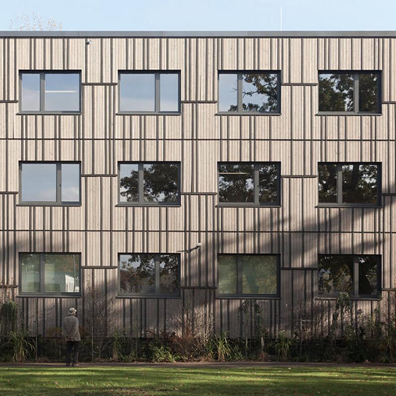 Verwaltungsgebäude Tierpark Berlin-Friedrichsfelde © ZRS Architekten Ingenieure
