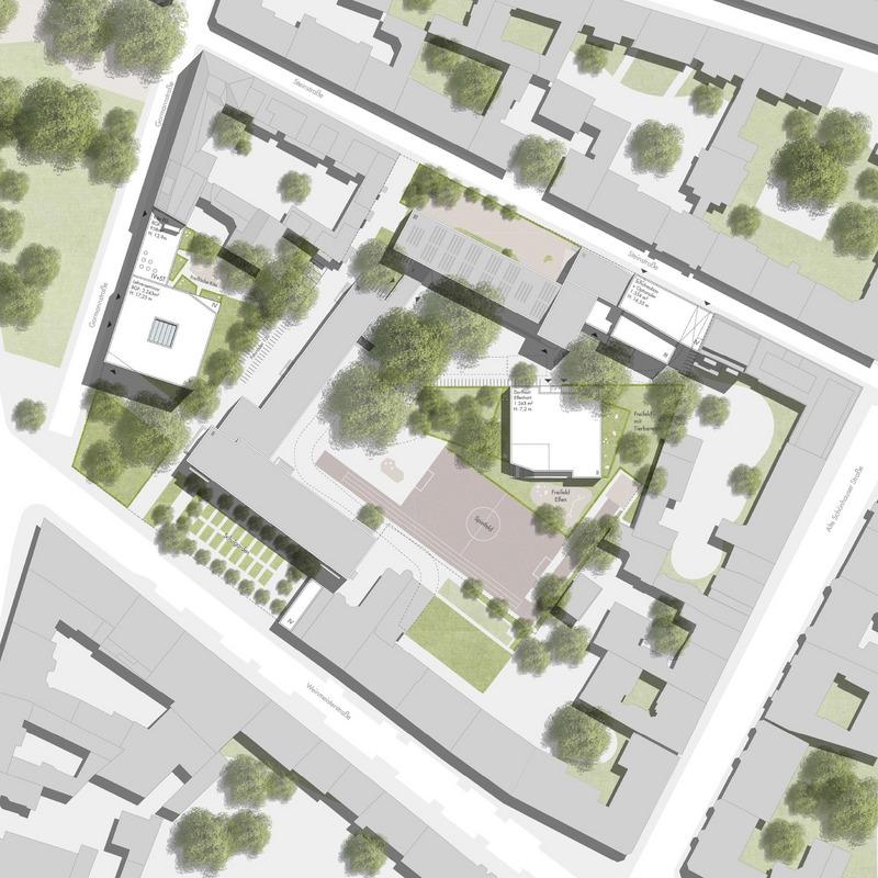 Standortentwicklung der Freien Waldorfschule Berlin-Mitte © Winking · Froh Architekten GmbH, Berlin