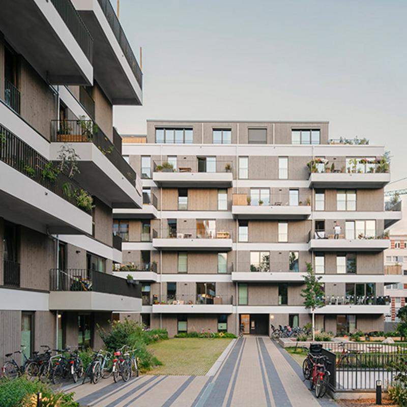 spb – Neubau von zwei Wohngebäuden © Simon Menges