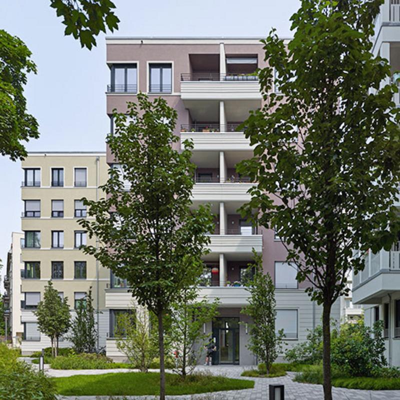 Vier Wohngebäude Lehrter Straße © Stefan Josef Müller
