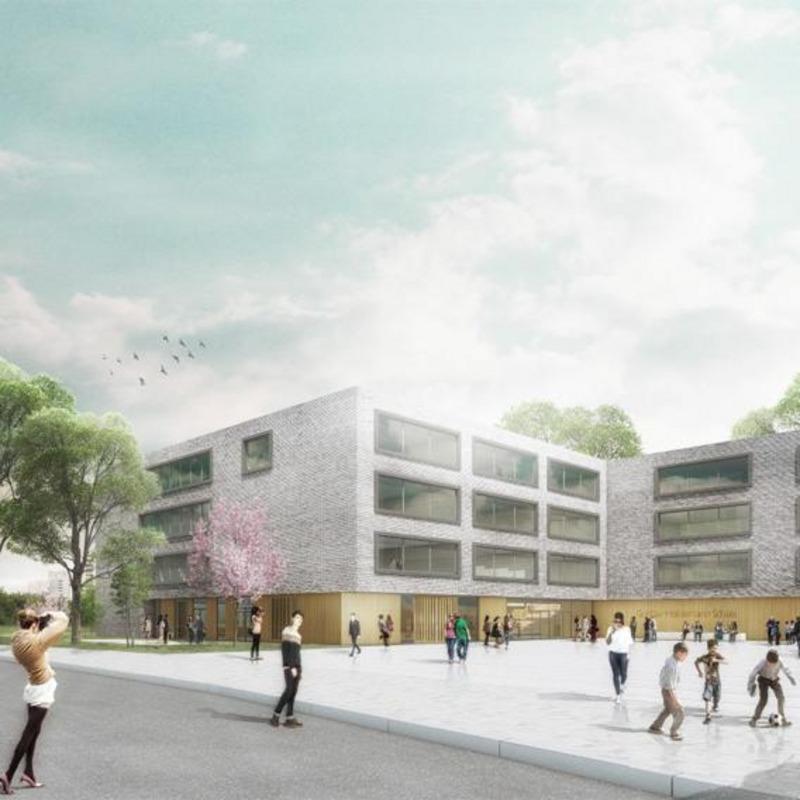 Neubau der Gustav-Heinemann-Schule, Berlin Tempelhof-Schöneberg © kleyer.koblitz.letzel.freivogel