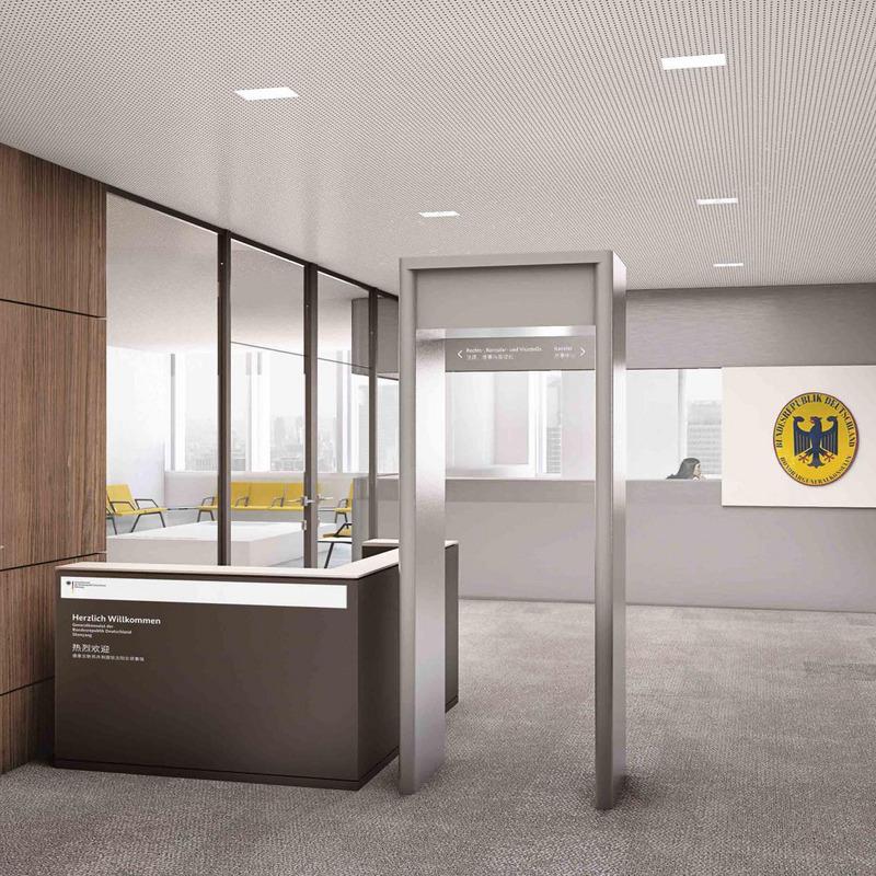 Bauliches Coporate Design für die Auslandsvertretungen der Bundesrepublik Deutschland © Dittel Architekten