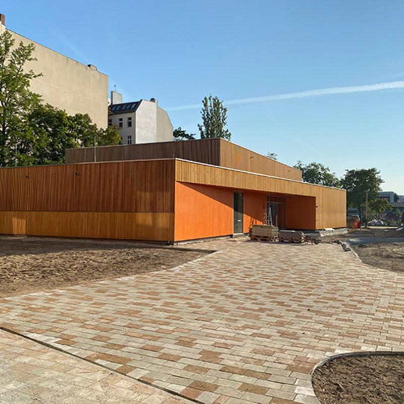 Sporthalle Johannes-Schule-Berlin © Kersten Kopp Architekten