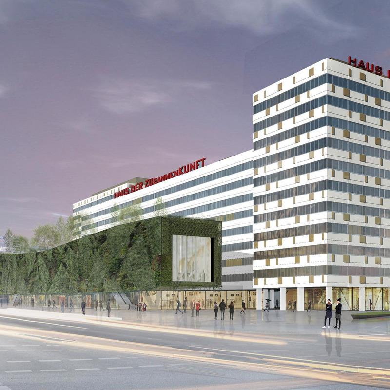 Haus der Statistik – Fassade und städtebauliche Arrondierung © de+ architekten gmbh, Berlin