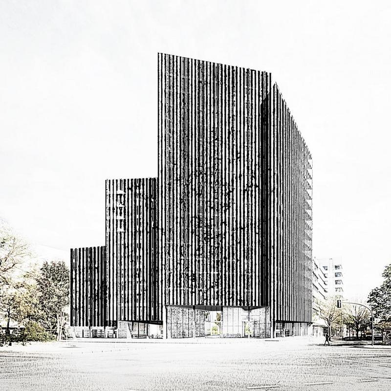 Büro- und Geschäftshaus Kurfürstenstraße 72-74 © Barkow Leibinger Gesellschaft von Architekten mbH, Berlin