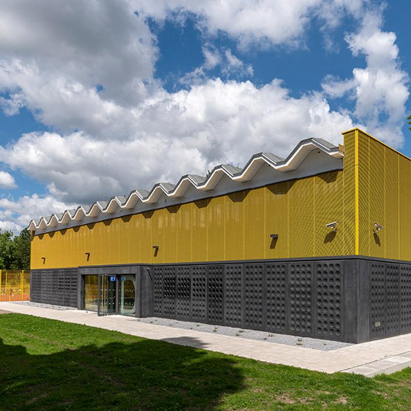 Sporthalle 2 Vincent-van-Gogh-Schule © Erik-Jan Ouwerkerk