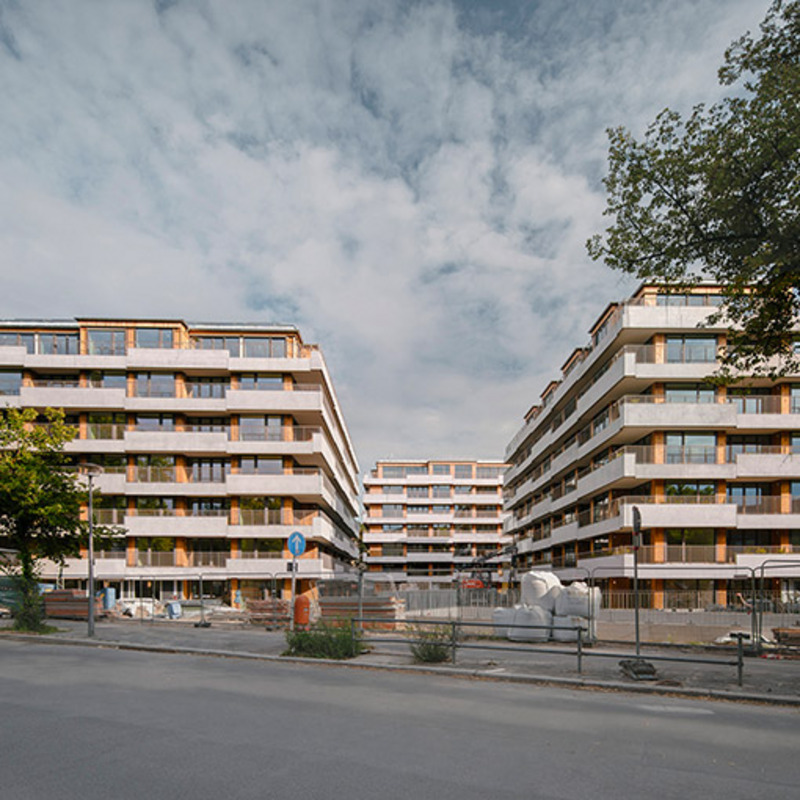 th62 – Neubau von sechs Stadthäusern © Simon Menges