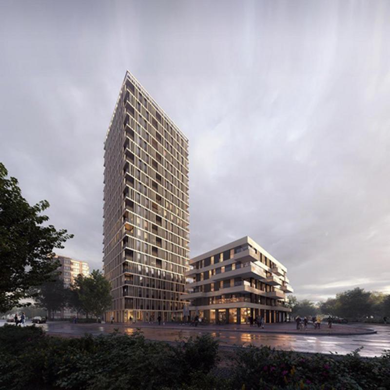 Wohnturm Theodor-Loos-Weg © Eike_Becker Architekten