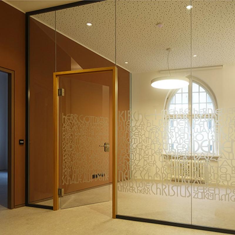 Räume der evangelischen Kirchengemeinde Zum Heilsbronnen © BvdM Architekten