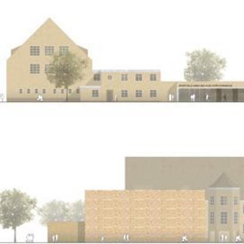 Neubau Sporthalle Hans-und-Hilde-Coppi-Gymnasium, Berlin-Lichtenberg © Schulz und Schulz Architekten