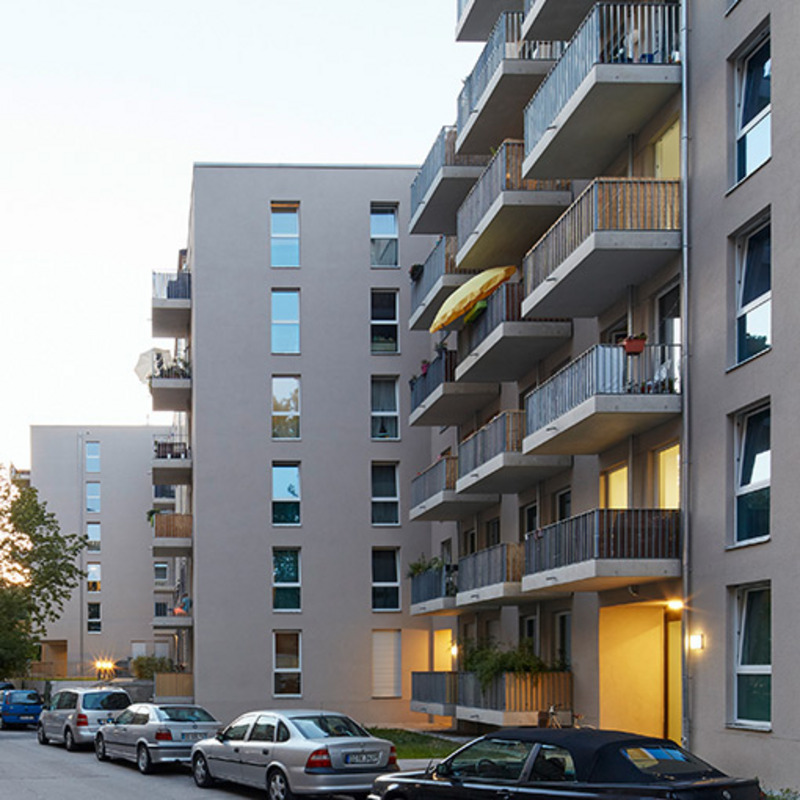 Liebigstraße – Wohnen an der Frankfurter Allee © Dawin Meckel