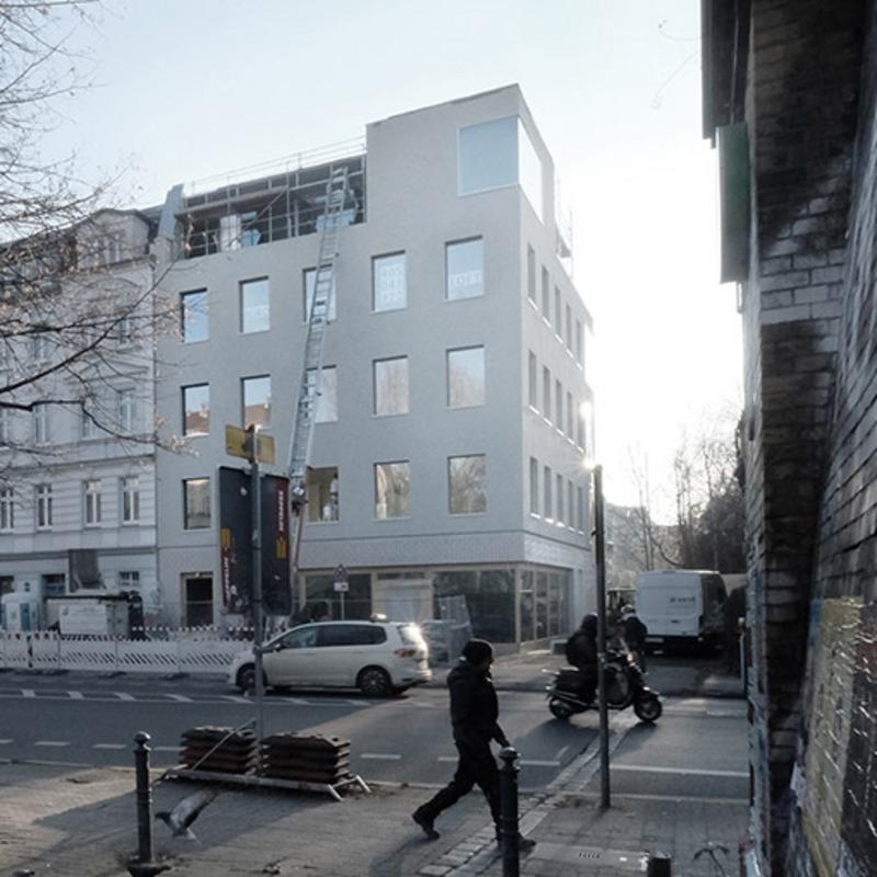 Atelierhaus Grenzübergang Wollankstraße © Philipp Koch