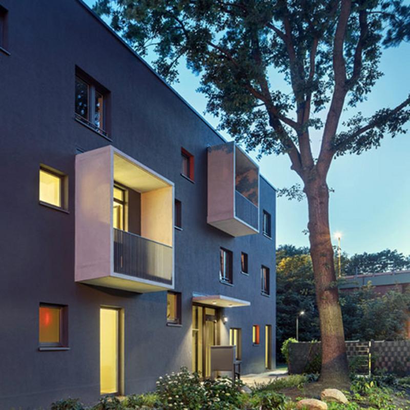 Neues Wohnen in der Gartenstadt Falkenberg © Werner Huthmacher
