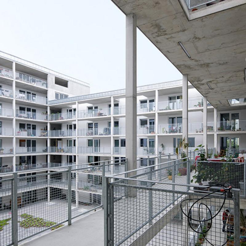 Neues Wohnen an der Briesestraße © Andrew Alberts