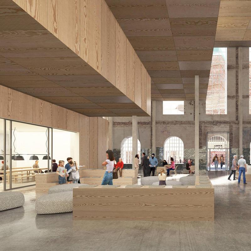 Museums- und Kreativquartier am Köllnischen Park: Teilprojekt Umbau und Herrichtung Marinehaus © ADEPT, DK-Kopenhagen