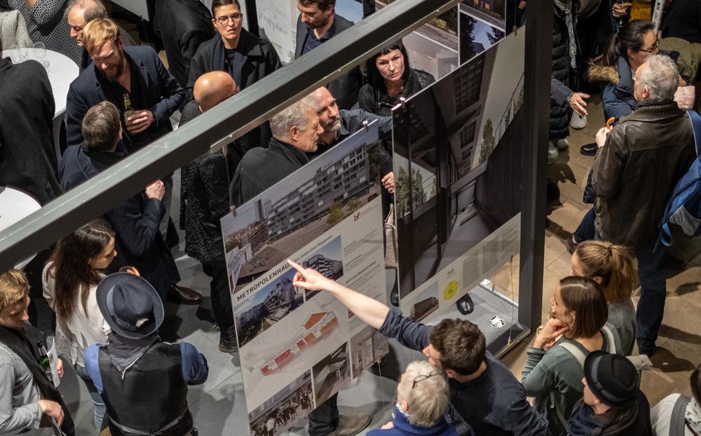 """Ausstellung """"da! Architektur in und aus Berlin"""", Foto: Till Budde"""