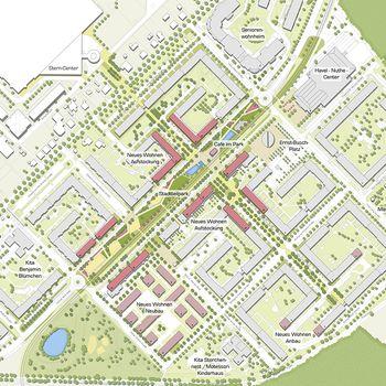Städtebaulicher Masterplan © Stadt · Land · Fluss